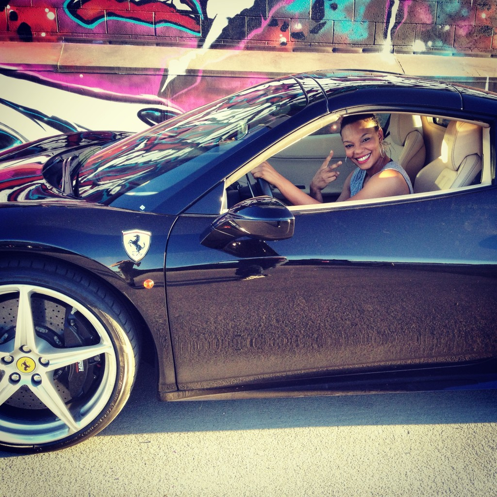 "Stunt Driver on set of Sevyn Streeter ft. Chris Brown ""Don't Kill The Fun"""