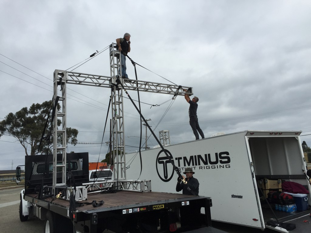 Cantilever Rig used for Kendrick Lamar Alright Music Video