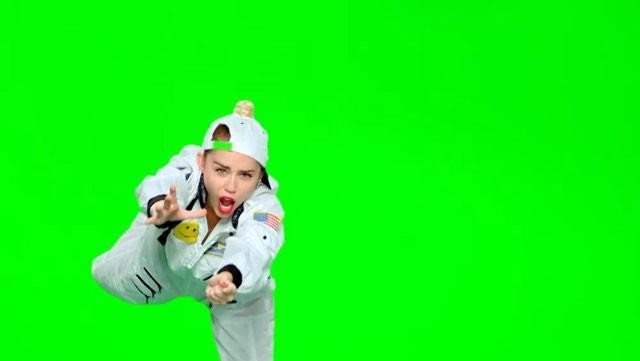 Miley Cyrus Floating for MTV