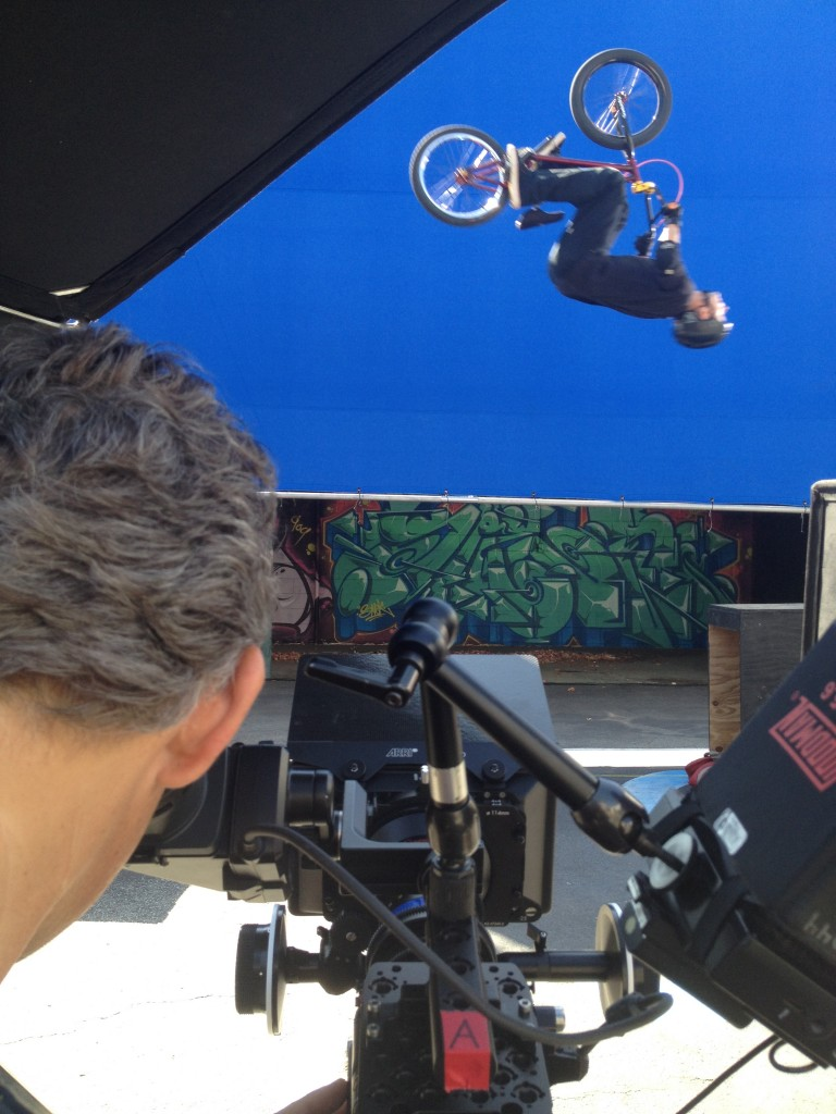 Stuntman Danny Downey doing his thing on Will I am Awesome Music Video