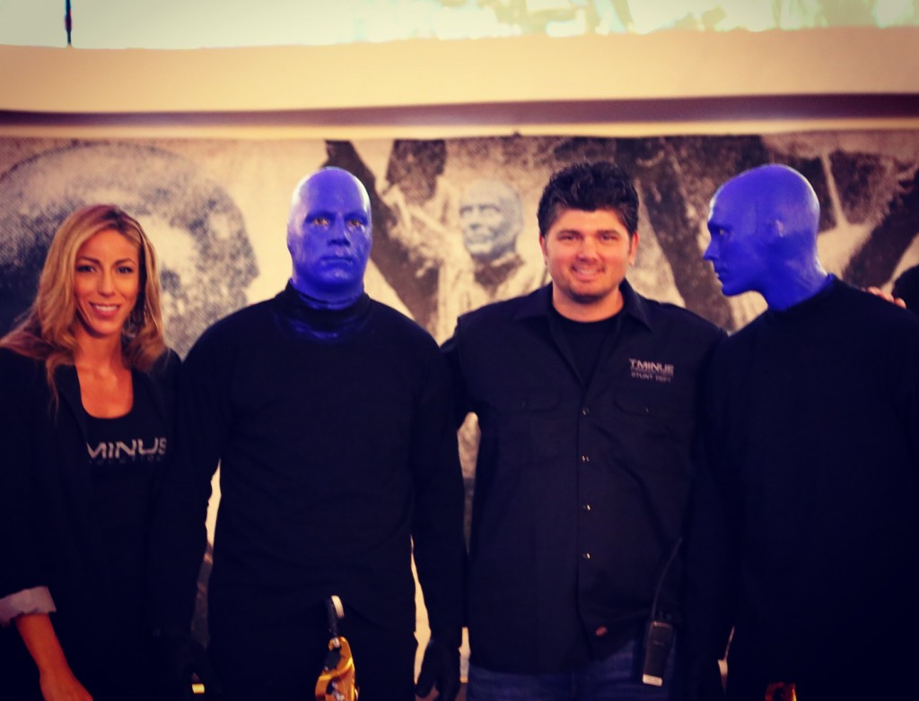 Blueman Group with T Minus Productions TJ White and Lauren Pacheco
